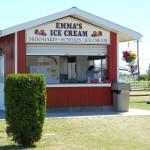 Emma Lea ice-cream stand