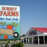 Surrey Farms sign and store