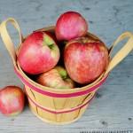apples in basket - honeycrisp